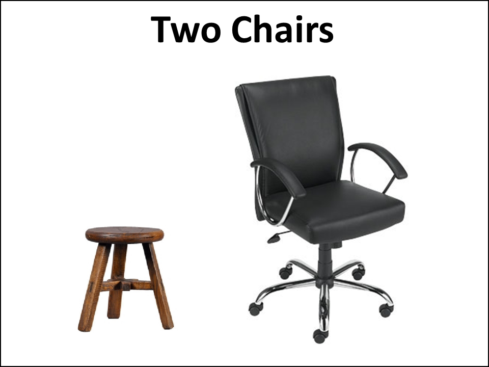 Figure 3 Two Chairs