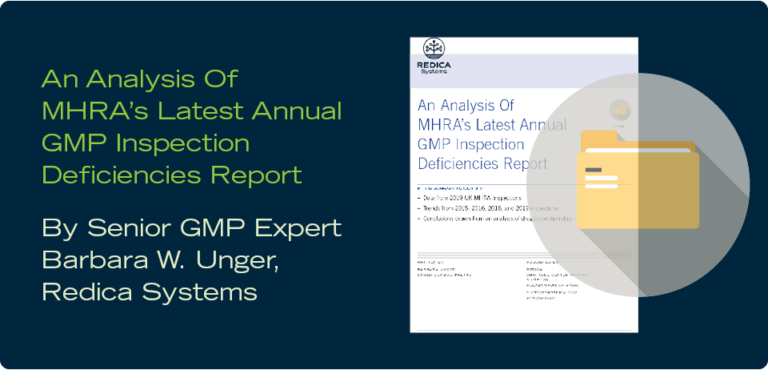 An Analysis Of MHRA's Latest Annual GMP Inspection Deficiencies Report